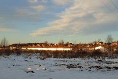 деревня Веледниково зимой