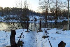 Старый мост через Истру у Веледниково