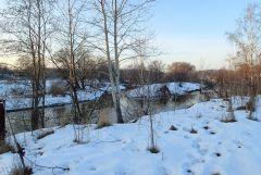 Зимнее утро у Истры