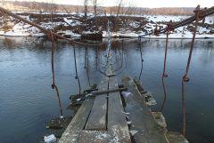 Веледниковский мостик через Истру